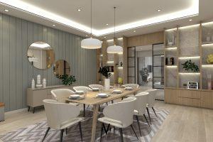 renovasi ruang makan 2